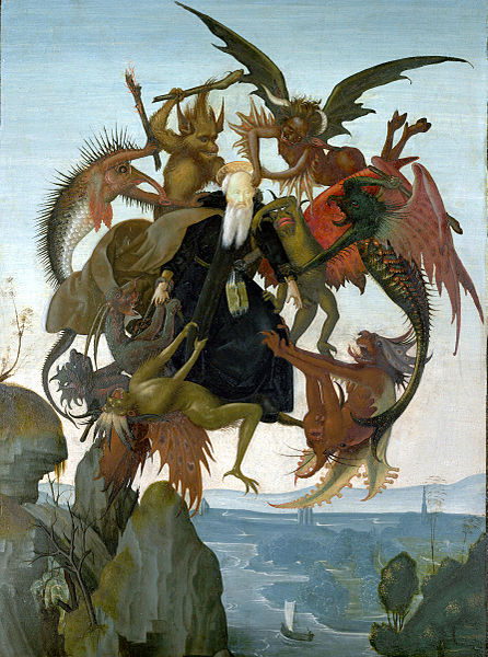 446px-The_Torment_of_Saint_Anthony_(Michelangelo)