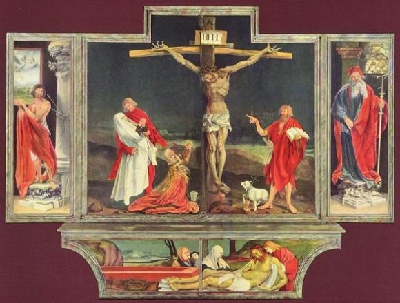 Grunewald, 16th Century Crucifixion scene