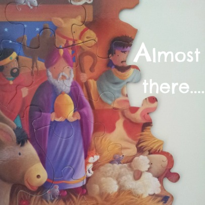 Advent day 11_jigsaw almost half complete