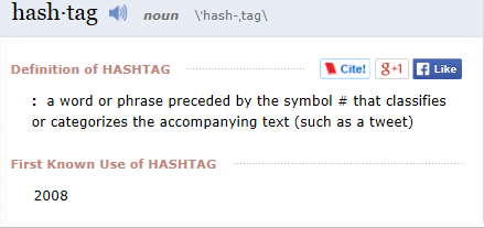 hashtag Merriam_Webster