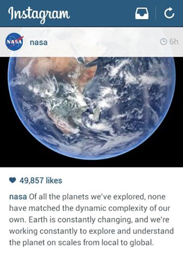 August 22_2014 NASA Instagram