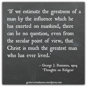 George Romanes quote