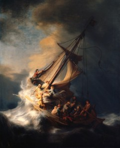 Rembrandt_1633 Christ in the storm on the sea of Galilee
