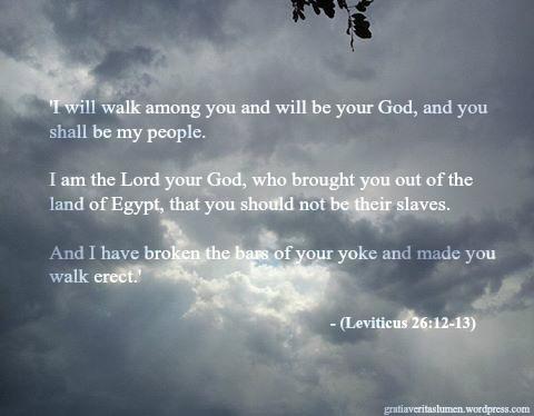 GVL: Leviticus 26:12-13 Epiphany