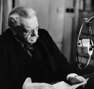 G.K. Chesterton Recording @ The BBC