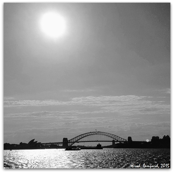 Harbour Bridge & Opera House October 2015