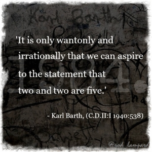 Barth meets Orwell 5