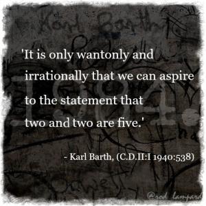 Barth meets Orwell 5